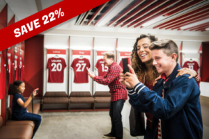 Anfield Tour Dressing Room Promo